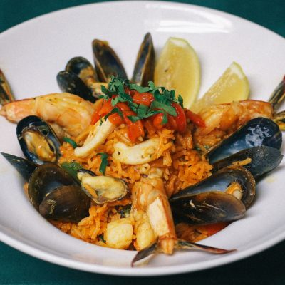 Mexican Seafood Paella