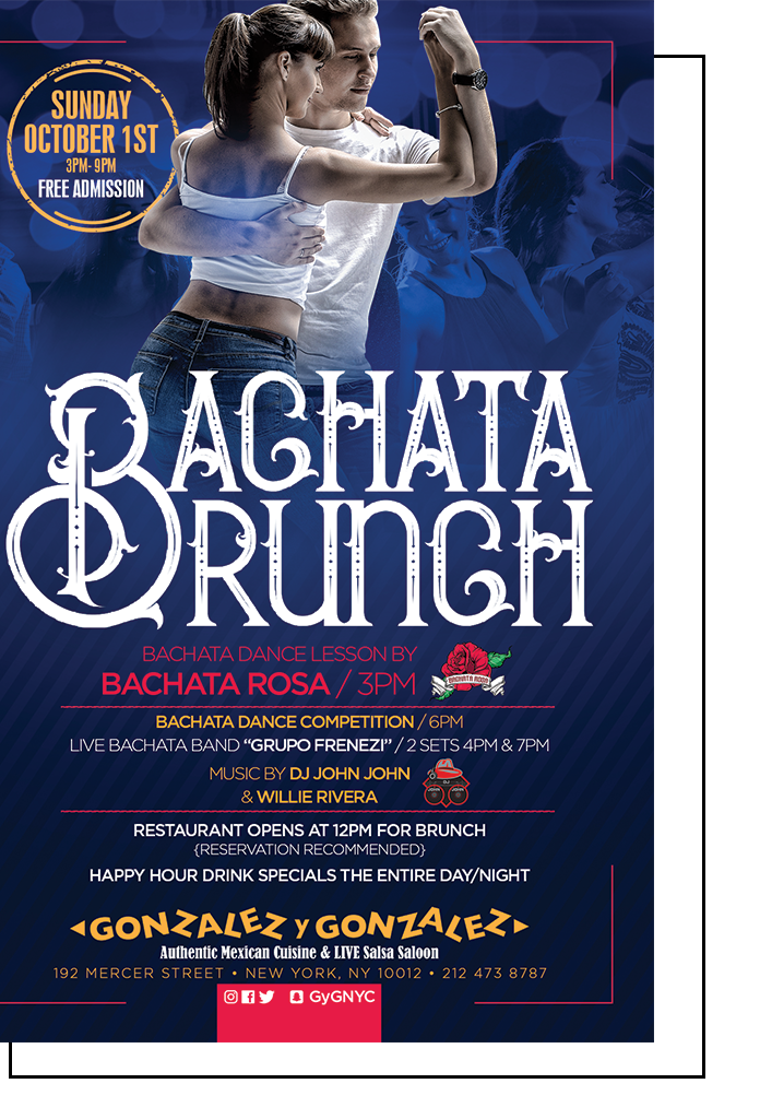 Bachata Brunch and Bachata Dance Competition